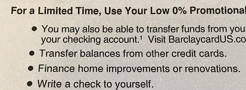 balance transfer check