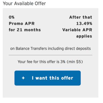 Citi bt offer
